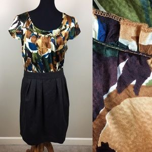 Tabitha silk Anthropologie dress size 14